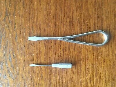 ***VINTAGE*** SIMANCO FEATHERWEIGHT SCREWDRIVERS #'s 25537 & 120378 + NEEDLES