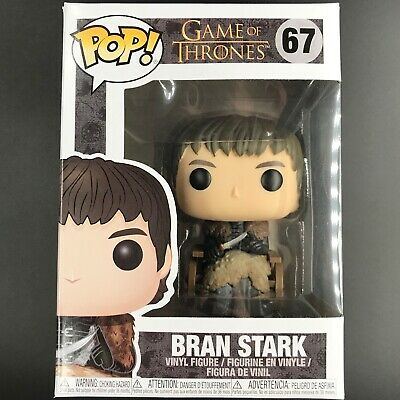 Funko Pop! Game of Thrones - Bran Stark in Wheelchair #67 Vinyl Figure