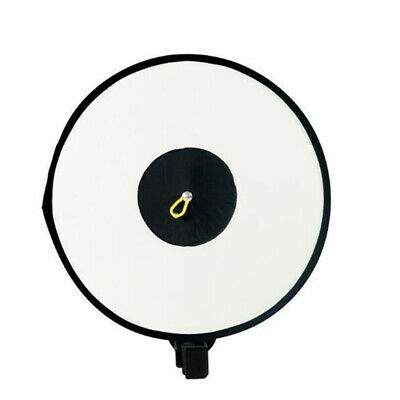 K6 Portable Speedlight Round Shape Flash Diffuser Photography Reflective Cover