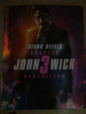 John Wick: Chapter 3 (Blue-Ray only, 2019)