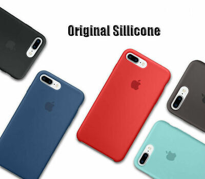 Genuine Original Ultra Thin Silicone Case Cover For iPhone X 6 7P 8  I11 Pro MAX