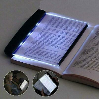 Book Lovers Reading Lamp Light LED Panel Night Wireless Mind Thinking Peopl O6Q9
