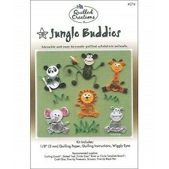 Quilled Creations Q276 Quilling Strips Forest Buddies Kit