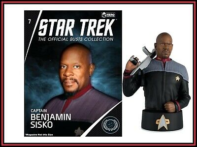 Eaglemoss Star Trek Collectors Busts: Star Trek Captain Benjamin Sisko Bust New