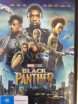BLACK PANTHER (2018 Marvel) DVD Director YEAR AS NEW!
