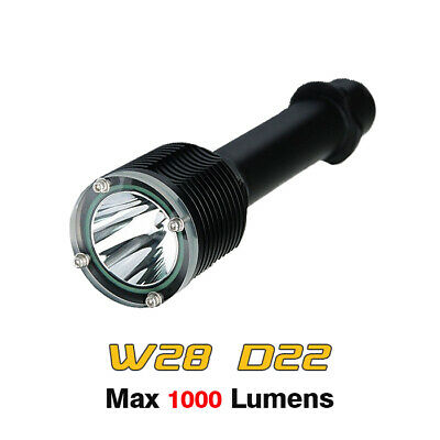 Archon WH32 DH26 Canister Scuba Diving Flashlight Cree XM-L U3 LED 1100LM Torch