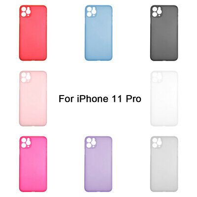 Hard Phone Case Cover Matte Protection Shell For Apple iPhone 11 Pro Shockproof
