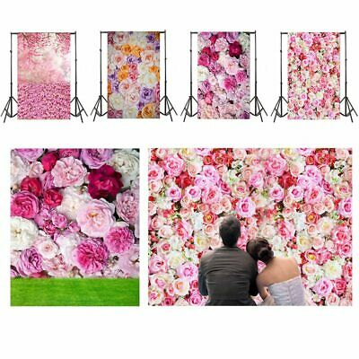 Flower Series Photography Backdrop Romantic Wedding Party Background 3x5ft #root