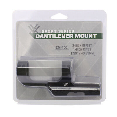 "Nikon M-223 Tactical Rifle Scope Mount For 1"" Tube With 20-MOA Slope Matte 833"