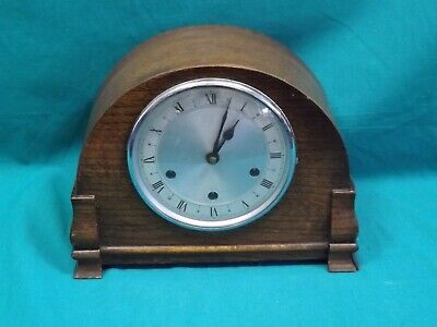Vintage Smiths Wind-Up Mantel Clock with Westminster Chimes.  (Hospiscare)
