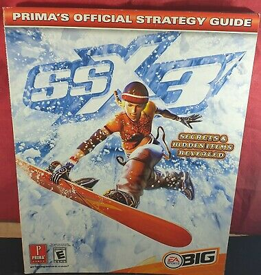 SSX 3 Official Strategy Guide VGC