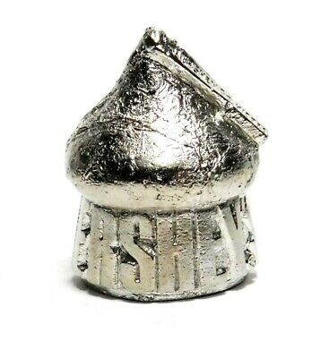 Hi-Relief Hershey Candy Kisses Shiny Pewter Thimble