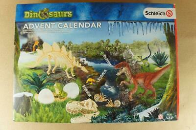 Boxed and unopened Schleich Dinosaurs Advent Calendar ref 97152