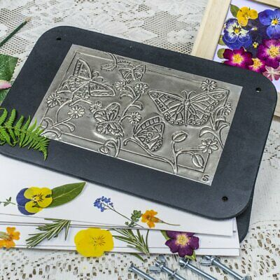 Flower Press Deluxe Metal Embossing Kit - Flower Press Craft Kit Top Quality