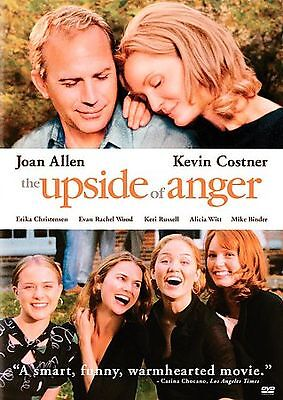 THE UPSIDE OF ANGER (DVD, 2005) KEVIN COSTNER, Joan Allen ~ A Collector's Must!