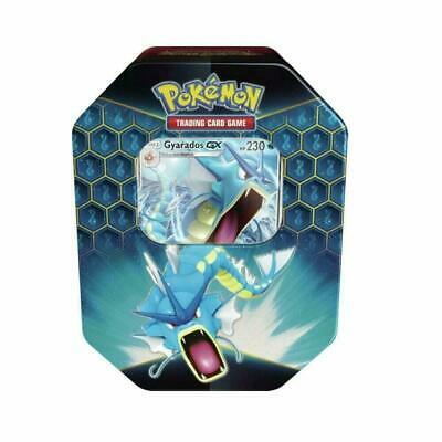 Pokemon Hidden Fates Gyarados GX Collectors Tin | Inc Booster Packs & Promo C...