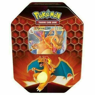 Pokemon Hidden Fates Charizard GX Collectors Tin |Inc Booster Packs & Promo C...