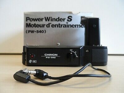 Vintage Chinon Power Winder S PW-540 in Original Box   6A