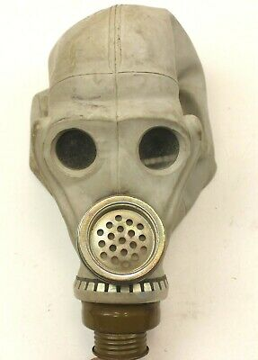 VINTAGE 1970/80's RUSSIAN SOVIET ARMY ShMS RESPIRATOR FULL - FACE GAS MASK