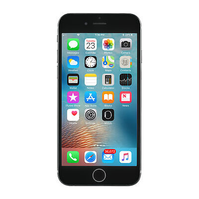 Apple iPhone 6s a1688 16GB Space Gray T-Mobile Unlocked -Very Good