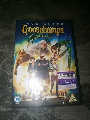 GOOSEBUMPS  dvd new and sealed