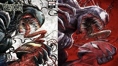Venom 18 Tyler Kirkham Exclusive Variant Cover A & B Set