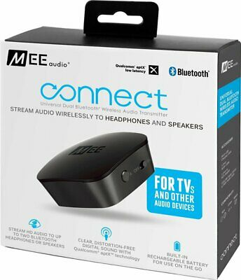 MEE audio Connect Universal Dual-Headphone Bluetooth Transmitter for TV -  VG