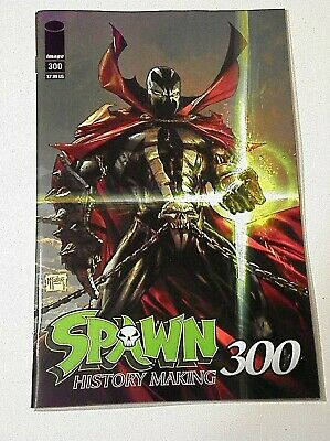 SPAWN 300(2019)MAIN COVER~TODD McFARLANE~GREG CAPULLO~J.SCOTT CAMPBELL~IMAGE!