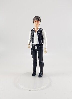 Star Wars Vintage PBP Han Solo no coo pale hands and pink neck special head vgc