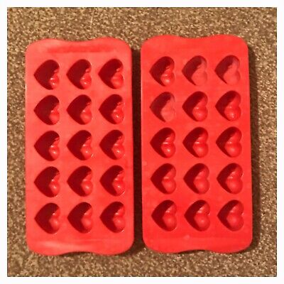 Mini Heart Mould x 2  - Wax Melts - 15 Cavity