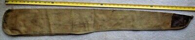 Original Pre Wwii 1936 Dated Usmc Us Marine Corps Folk Art Decorated Rifle Case