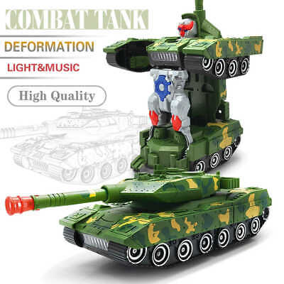 Toys For Boys Age 4 5 6 7 8 9 11 12 Year Old Kids Transformers Tank Robot