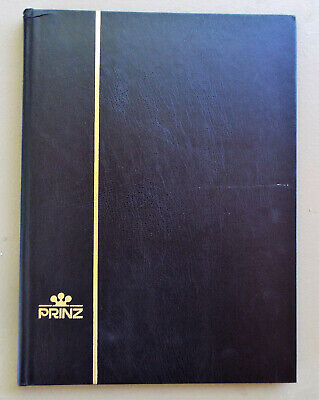 Lightly Used 9X12 Prinz 16 Page Stockbook For Stamps