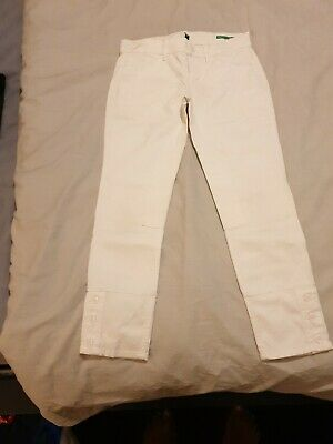 White Skinny Jean United Colors Of Benetton Girls Age 8-9. New without tags.