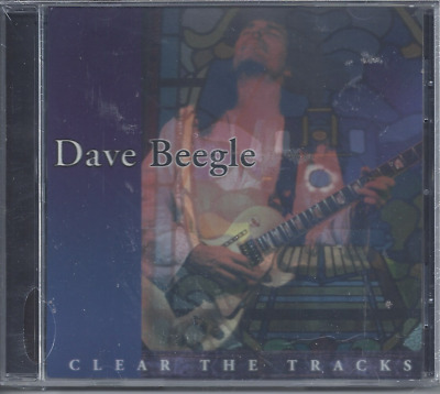 Dave Beegle-Clear The Tracks CD Christian Rock Fourth Estate(New Factory Sealed)