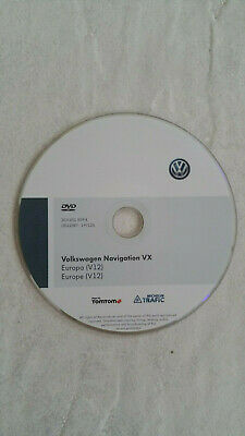 Orginal VW Navigation VX Europa (V12) DVD Volkswagen CD