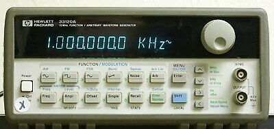 Agilent HP 33120A function/arbitirary waveform generator [Misc.] (Certified...