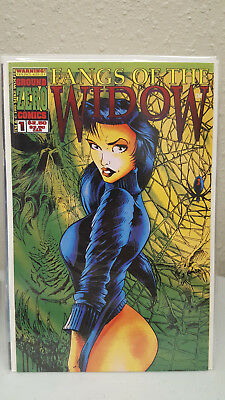 Fangs of the Widow # 1 and 5  (Ground Zero Comics)