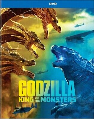 GODZILLA KING OF THE MONSTERS DVD + DIGITAL Only in a Blu-ray CASE *READ*