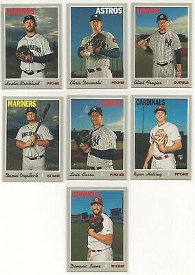 2019 Topps Heritage High Number Short Print 7 Cards Lot Sp