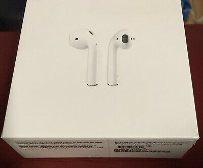 Earbuds Airpods 2nd Gen with Wireless Charging Case Replica 1:1 New SEALED