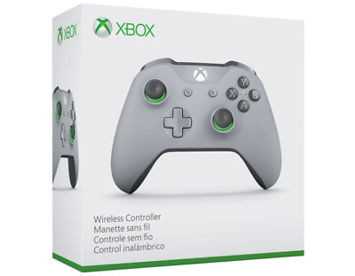 OEM Microsoft - Xbox Wireless Controller - Gray and Green - WL3-00060 - GST4