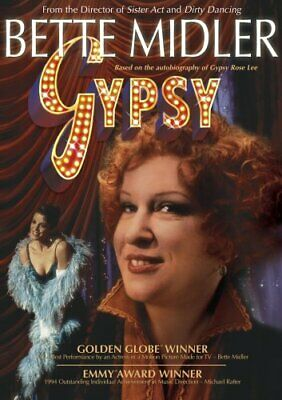 Bette Midler Gypsy (DVD, 2005)  Free Shipping In Canada