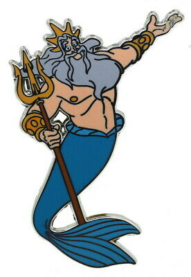 2018 Disney Little Mermaid King Triton Pin Rare W1