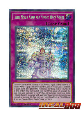 YUGIOH x 3 Until Noble Arms are Needed Once Again - MP19-EN225 - Prismatic Secre