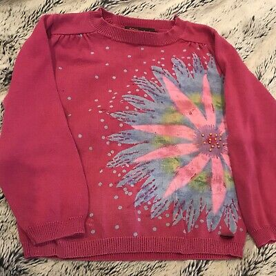 Size 4 Light Cotton Catimini Jumper