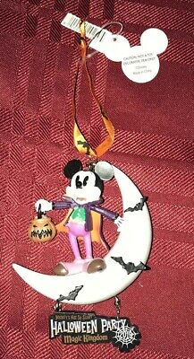 2019 Disney Parks Mickey's Not So Scary Halloween Party Vampire Mickey Ornament
