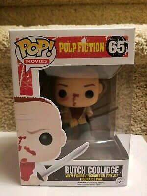 Funko Pop! Pulp Fiction Butch Coolidge #65 Vaulted Rare Retired