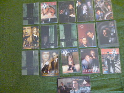 16 Promo X Files  Cards Mint Condition