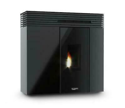 LAMINOX VP161N NERO TERMOSTUFA A PELLET VERONICA 16 PHANTOM 10,2 kW 150/300 m³